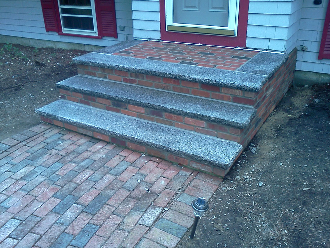 Wellesley Brookline Brick And Stone Steps Masonry Repair